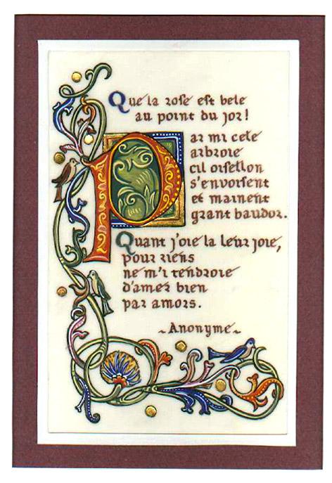 Quelques enluminures du moyen ge lanniao 39 s blog - Le salon du manuscrit ...